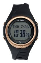 Solus Unisex Digital with LCD Dial Digital Display and Black Plastic or PU Strap SL-300-001