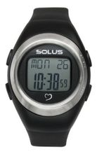 Solus Unisex Digital with LCD Dial Digital Display and Black Plastic or PU Strap SL-800-201
