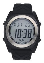 Solus Unisex Digital with LCD Dial Digital Display and Black Silicone Strap SL-310-005