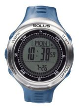 Solus Unisex Digital with LCD Dial Digital Display and Blue Plastic or PU Strap SL-110-003