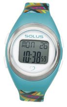 Solus Unisex Digital with LCD Dial Digital Display and Blue Plastic or PU Strap SL-800-009