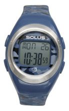Solus Unisex Digital with LCD Dial Digital Display and Blue Plastic or PU Strap SL-800-103
