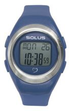 Solus Unisex Digital with LCD Dial Digital Display and Blue Plastic or PU Strap SL-800-204