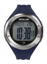 Solus Unisex Digital with LCD Dial Digital Display and Blue Plastic or PU Strap SL-900-003