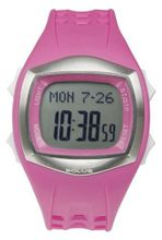 Solus Unisex Digital with LCD Dial Digital Display and Pink Plastic or PU Strap SL-100-005