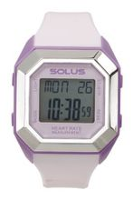 Solus Unisex Digital with LCD Dial Digital Display and Pink Plastic or PU Strap SL-840-006