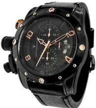 Sottomarino Anfibio SM30295-B with Black Leather Band