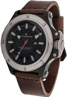 Sottomarino Porto Azzurro SM90020-A with Brown Leather Band
