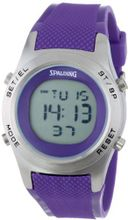 Spalding SP4000-007 The Grip Textured Purple Strap Digital