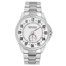 Sperry's 102025 Casual Stainless Steel with White Dial