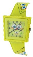 Nickelodeon SpongeBob Squarepants Yellow Childrens Casual Strap SB39A