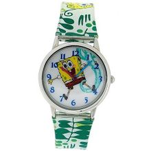 Spongebob Squarepants Kids - Childrens Analogue Pu Strap SB042