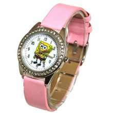 Spongebob Squarepants Pink Childrens Quartz SB25