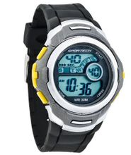 Sportech HA0254 - Digital Sport - Black and Yellow Tone