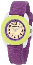 Sprout ST/1045LMIVPR Purple Organic Cotton Strap Bamboo Dial