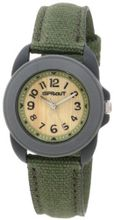 Sprout ST/1048GYGYDG Dark Green Organic Cotton Strap Bamboo Dial