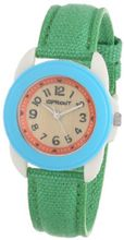 Sprout ST/1060TQGN Easy-to-Read Dial Green Organic Cotton Strap