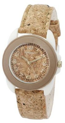Sprout Unisex ST/1049BNIVCK Cork Resin Case Cork Strap
