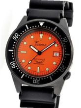 Squale 500 meter Professional Swiss Automatic Dive with Sapphire Crystal 1521-026-PVD-O