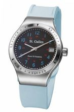 St. Gallen Disinfectable - Florence Nightingale Collection - Quartz , Counter For Pulsation Calibration, Matt Black Color Dial