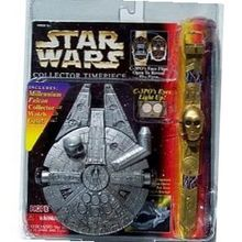 Star Wars C-3PO Millennium Falcon Collector Timepiece w/ Case