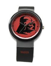 Star Wars Darth Vader Black Rubber Silicon Strap (DAR3504)
