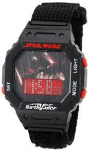 Star Wars Kids' 9005862 Star Wars Darth Vader Digital Wrap Strap