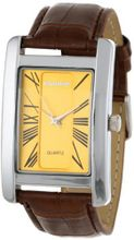 Steinhausen IM2077SFGB Publicist Metal Dial with Leather Band