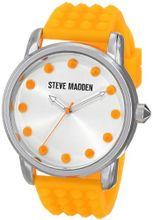Steve Madden SMW00001-28 Analog Display Quartz Orange
