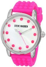 Steve Madden SMW00001-29 Analog Display Quartz Pink