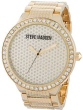 Steve Madden SMW00007-01 Gold Crystal Set Case