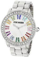Steve Madden SMW00010-41 Analog Display Quartz Silver