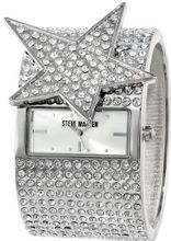 Steve Madden SMW00011-01 Crystal Star and Cuff Bracelet