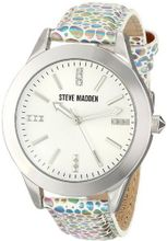 Steve Madden SMW00027-13 Analog Display Quartz White