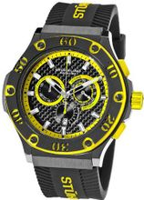 Stuhrling Prestige 292P.335965 Prestige Swiss Made Harbinger Quartz Chronograph Date Yellow