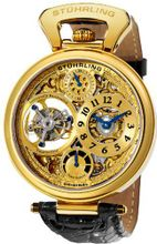 Stuhrling Original 127D.333531 Sovereign Tourbillon Date Black