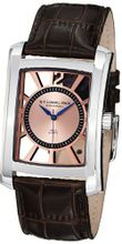 Stuhrling Original 144D.3315K14 Gatsby Quartz Date Brown