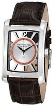Stuhrling Original 144D.3315K2 Gatsby Quartz Date Brown