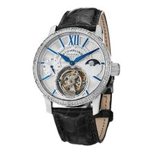Stuhrling Original 296DS.331X2 Diamond Imperium Tourbillon Date Black