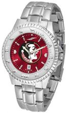 Florida State Seminoles FSU NCAA Steel Anochrome