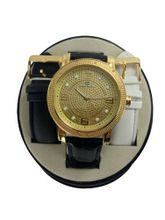 87% OFF * SUPER TECHNO REAL DIAMOND WATCH P-102 * W10673