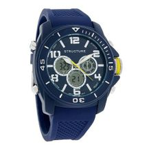 Structure by Surface XL Blue Digital Analog Chronograph 32575-104