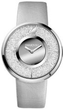 Swarovski Crystalline Silver Dial Stainless Steel Quartz Ladies 1135990
