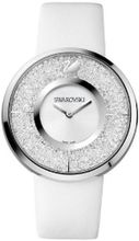 Swarovski Crystalline White Dial Calfskin Leather Strap Quartz Ladies 1135989