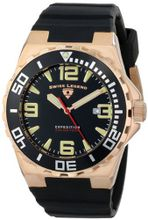 Swiss Legend 10008-RG-01-BB Expedition Black Silicone