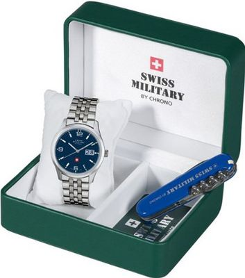 Mans Swiss Military SM34004.03set