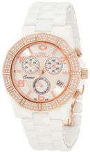Swiss Precimax SP12043 Luxe Elite Mother-Of-Pearl Dial with White Ceramic Band