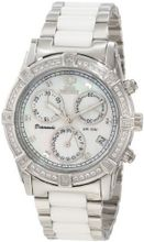 Swiss Precimax SP12075 Desire Elite Ceramic Diamond Mother-Of-Pearl Dial