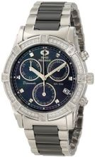 Swiss Precimax SP12076 Desire Elite Ceramic Diamond Mother-Of-Pearl Dial
