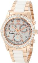 Swiss Precimax SP12078 Desire Elite Ceramic Diamond Mother-Of-Pearl Dial